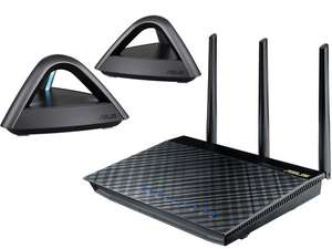 Asus AiMesh AC1750 Wi-Fi Systeem | 1x RT-AC66U + 2x Lyra Trio