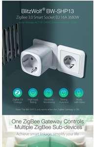 2 stuks BlitzWolf® BW-SHP13 ZigBee 3.0 Smart Socket 16A EU Plug