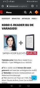 Gratis Kobo Nia e-reader bij 1 jaar VARAgids