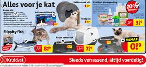 Kruidvat BE: Kattenbak met extra 50% korting