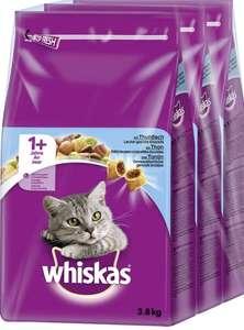 3 x 3,8 kg Whiskas adult Tonijn kattenbrokken voor maar €1,35/kg !! (abo)