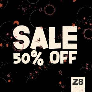 Vanaf 21 januari 50% korting bij Z8.nl
