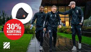 30% korting op Adidas (oa Thuis- en uittenue) en gratis mondkapje bij bestelling @ Feyenoord Fanshop