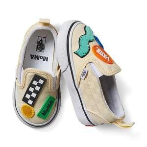 Slip-On VANS X MoMa peuter sneakers