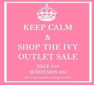 Alle fashion €10 - alle schoenen €25 @ Ivy Fashion