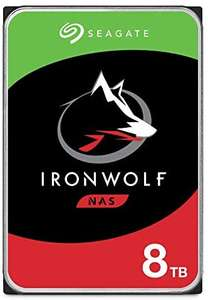 Seagate Ironwolf, 8 TB, NAS Interne Harde Schijf HDD (ST8000VN004)