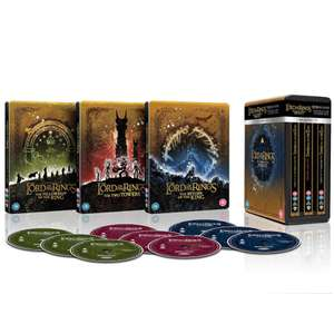 The Lord of the Rings Trilogy - Limited Edition 4K Steelbook Collection (met NL subs)
