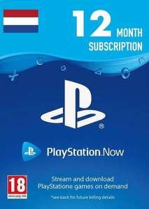 PlayStation Now 1 jaar abonnement NL voor €42,99 bij CDKeys