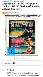 Once Upon A Time In Hollywood - 4K UHD Blu-Ray [STEELBOOK]