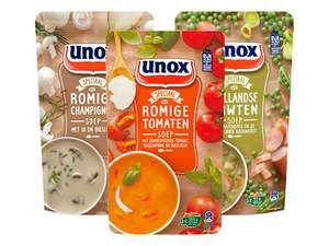 Unox of Conimex soep 3 zakken €3 (1,7 liter) & vanaf €10 gratis bezorging @ Hoogvliet (tot 68% korting)