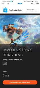 Probeer Immortals Fenyx Rising gratis met de demo @ PlayStation/Xbox