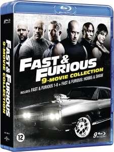 Fast & Furious 1-8 + Hobbs & Shaw   Blu-ray @ Boekenvoordeel