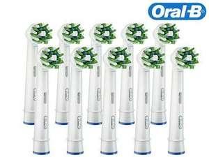 10x Oral-B CrossAction Opzetborstel