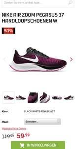 Nike Air Zoom Pegasus 37 hardloopschoenen W voor dames