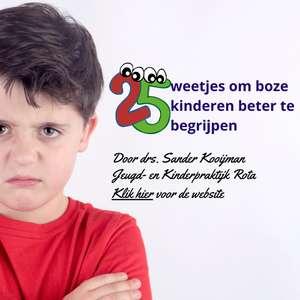 Gratis E-book 25 weetjes om kinderen met boos gedrag beter te begrijpen