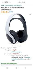 Sony PULSE 3D-Wireless Headset [PlayStation 5]