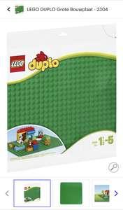 LEGO DUPLO Grote Bouwplaat - 2304 (Select/Bol.com)