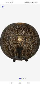 Lucide TAHAR - Tafellamp - Ø 33 cm