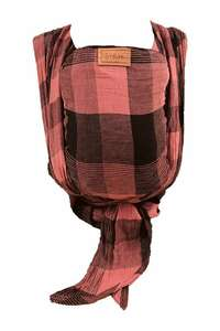 ByKay draagdoek Woven Wrap Deluxe Red Plaid (zie omschrijving voor andere goedkope opties) maat 6