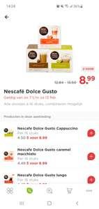 Dolce Gusto cups bij de Plus, 3 pakken voor €8,99