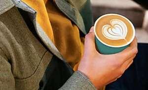 bij Shell Recharge één gratis koffie via de voucher in de Shell Recharge App.