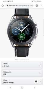 Samsung Galaxy Watch 3 Mystic Silver LTE