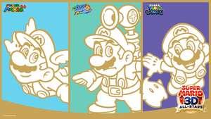Super Mario 3D All-Stars wallpaper voor je pc, smartphone en tablet voor 0 punten @ My Nintendo