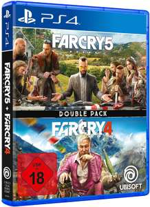 PS4 - Far Cry 4 & Far Cry 5 Double pack - USK