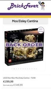 Lego mos eisley cantina - 75290