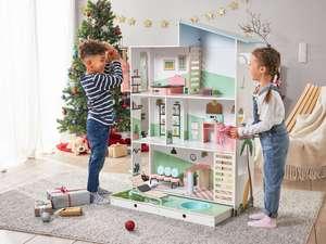 Playtive Houten Poppenhuis Deluxe voor €49,99 (was €89,99) @ Lidl-shop