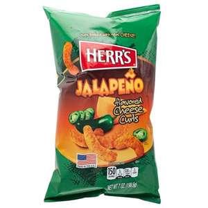 2x HERR'S jalapeno poppers 199 gram €6,05 (16 voor €2,28 p.s.)