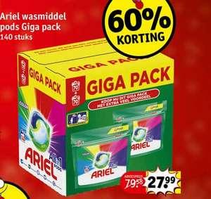 Ariel Color Pods Gigapak (140st)