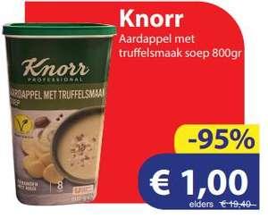 8 liter soep voor €1 @ Die Grenze