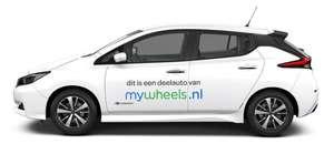 25% korting op deelauto's van mywheels + Korting op Korting