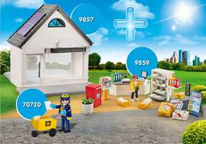Maandaanbieding Playmobil postkantoor bundel 3 setjes.