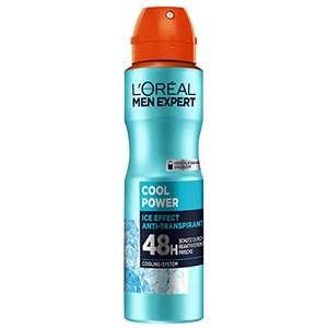 5 Stuks - L'Oréal Men Expert Cool Power Deodorant (5 = 4 actie)