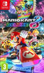 Mario Kart 8 DeLuxe - NL versie voor €38 met code (Nintendo Switch)