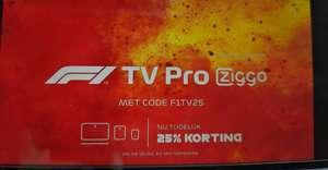 F1TV 25% korting €48,75 voor jaar F1 kijken