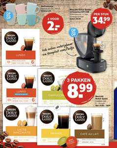 Dolce Gusto cups 3 voor €8,99