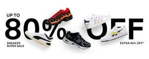 40% EXTRA korting op sale sneakers