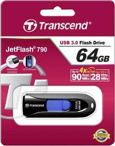 Transcend JetFlash 790 64GB USB 3.0 Black