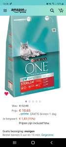Purina One Sterilcat Rundvlees kattenvoer 3KG