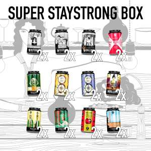 Super Stay Strong Box Brouwerij Frontaal