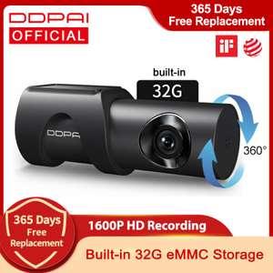 DDPAI Mini Dashcam 3 1600P / 32GB - uit Polen of Spanje