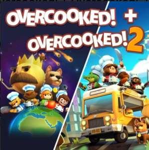 Overcooked + Overcooked 2 (10,49 met PS Plus)