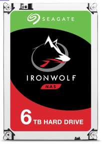 """Seagate HDD NAS 3.5"""" 6TB ST6000VN0033 Ironwolf"""