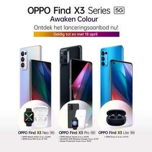 Tijdelijk gratis producten bij aankoop OPPO X3 Series