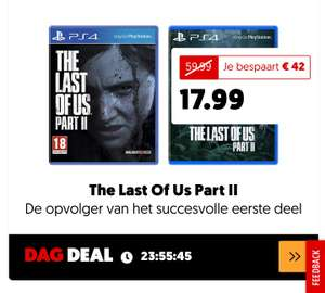 Dagdeal: The Last Of Us Part II | PlayStation 4