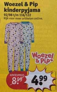 Woezel & Pip kinderpyjama Maat 92/98 t/m 116/122 bij Kruidvat van (vanaf 15 maart)