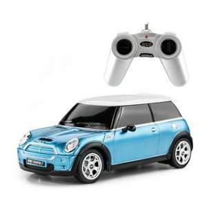 Mini Cooper RC Radiografisch Bestuurbare auto 1:24 @ Dagknaller